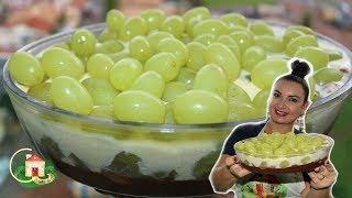 Aprenda Fazer Sobremesa Cremosa de Uva