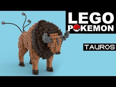 TAUROS Lego Pokemon (Custom)
