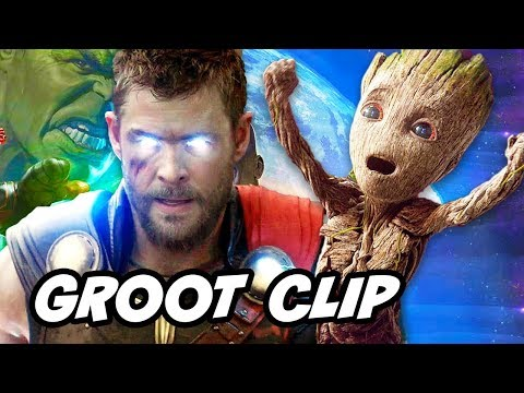 Avengers Infinity War Groot Scene vs Original Groot Explained by James Gunn