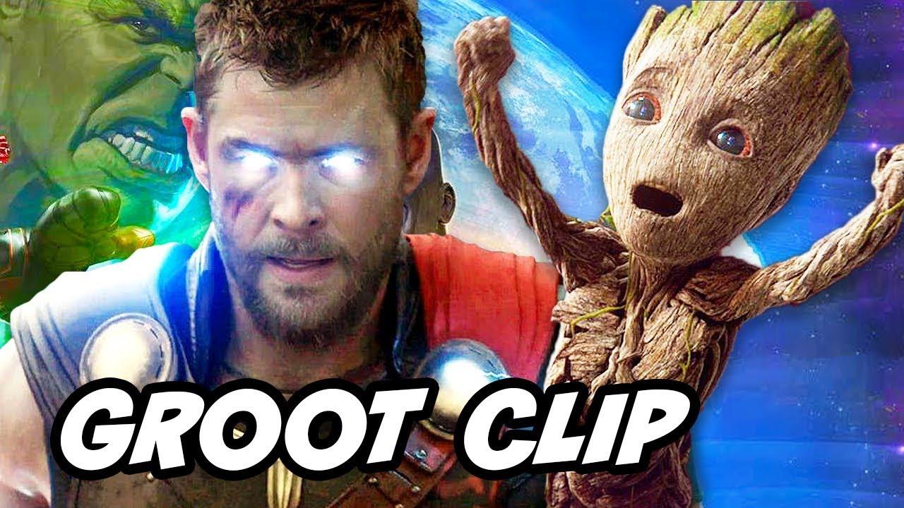 d194a2c22cc27 Avengers Infinity War Groot Scene vs Original Groot Explained by James Gunn