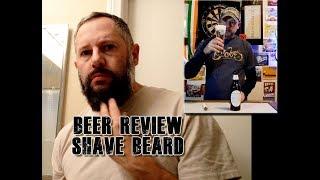 Innis and Gunn - Saison - Raspberry Barrel Aged - Beer Review - Beard Shave