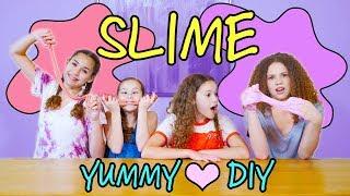 YUMMY SLIME DIY! (Haschak Sisters)