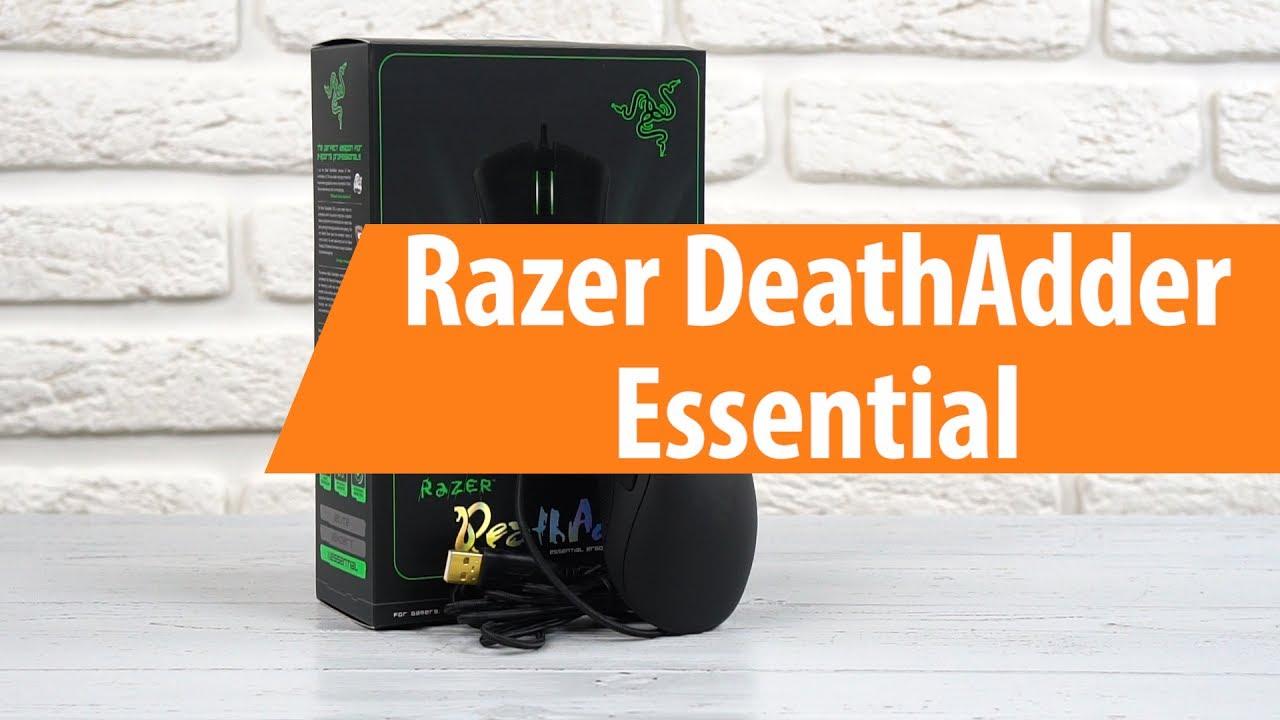 1a02c72751b Распаковка Razer DeathAdder Essential   Unboxing Razer DeathAdder Essential