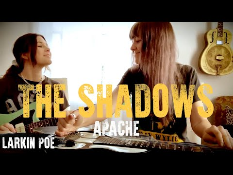 "Larkin Poe | The Shadows Cover (""Apache"")"