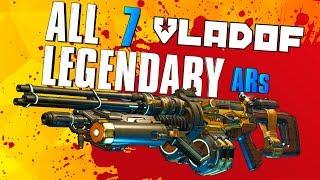Borderlands 3 - Every Legendary Vladof AR