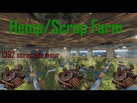 Rust- Full Hemp/Scrap Farm Guide
