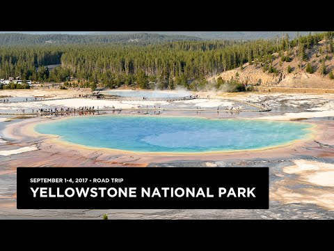 Yellowstone National Park - September 2017