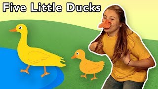 Five Little Ducks + More | Mother Goose Club Playhouse Songs & Rhymes