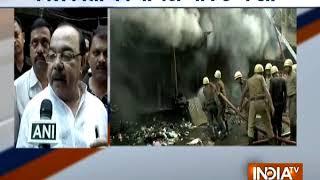 Massive fire breaks out at Kolkata's Bagri market