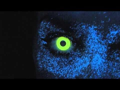 Yellow UV / Rave Contact Lenses - YouTube