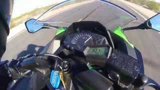 Ninja 300 Top Speed MPH