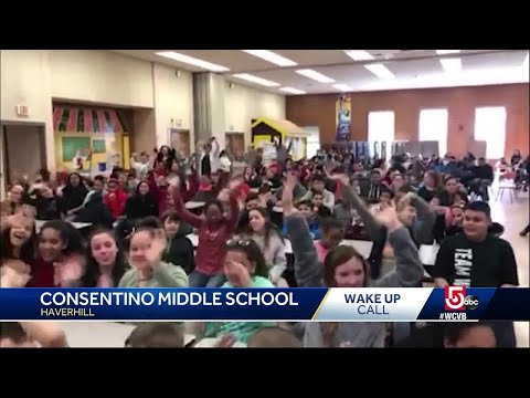 Wake Up Call from Consentino Middle School