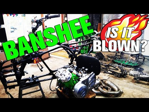 IS IT BLOWN? Compression Testing the Yamaha Banshee Engine