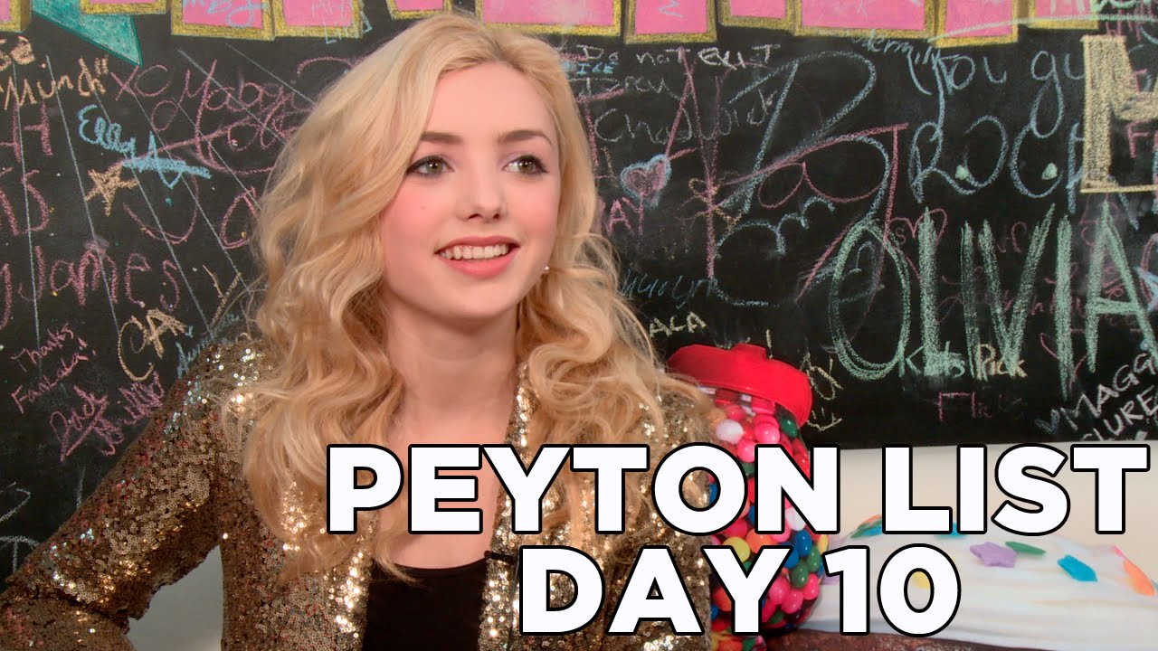 Peyton List Dishes on New Movie 'The Outskirts': 10 Days ...