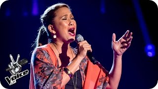 Irene Alano-Rhodes performs 'Wind Beneath My Wings' - The Voice UK 2016: Blind Auditions 3