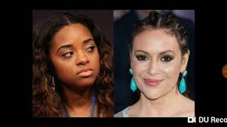 Alyssa milano you are not the boss of black people