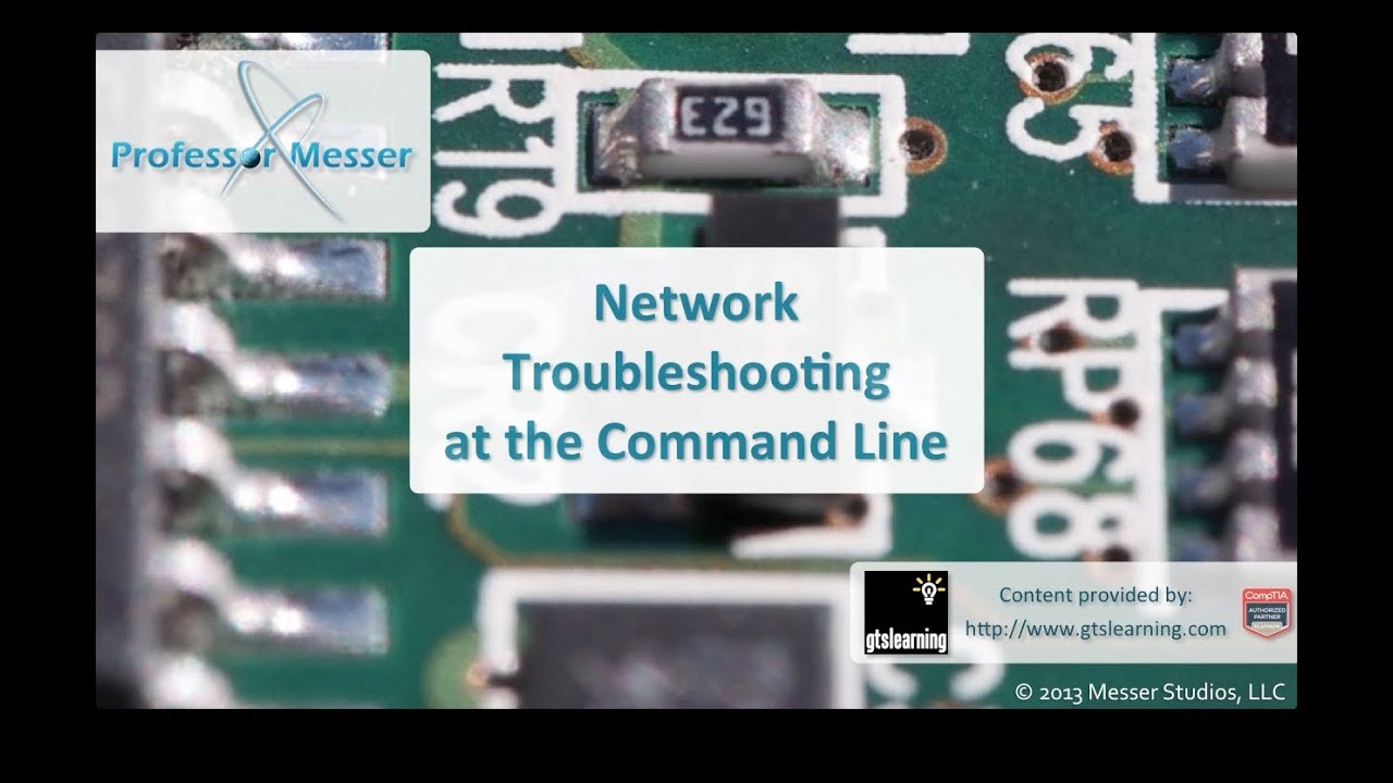 Network Troubleshooting At The Command Line Comptia A 220 802 Series Circuit Youtube Premium