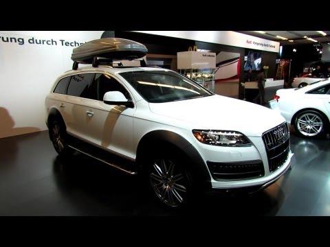 2013 Audi Q7 TDI Quattro - Exterior and Interior Walkaround - 2013 Salon de L'Auto de Montreal