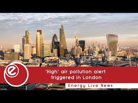 'High' air pollution alert triggered in London