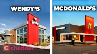 Why All Fast Food Chains Look The Same Today - Cheddar Explains