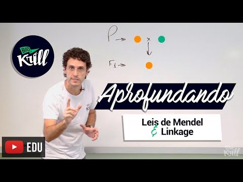 Aprofundando   Leis de Mendel e Linkage