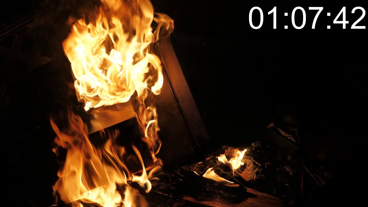 Sentrysafe vs Honeywell Fire Test