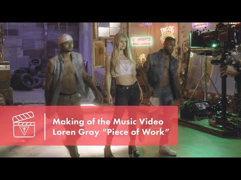 """Loren Gray """"Piece of Work"""" Making of the Music Video (Official BTS Video)"""