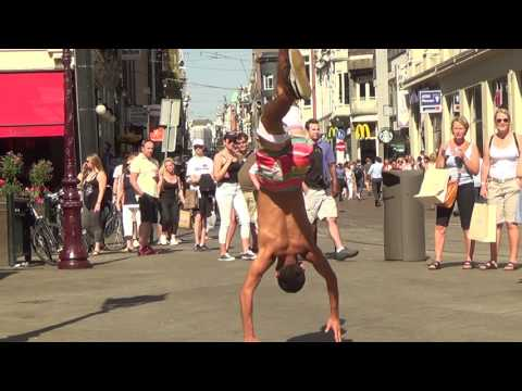 Break Dance / Capoeira - Collaboration - Street Dance Show (Amsterdam 2017)