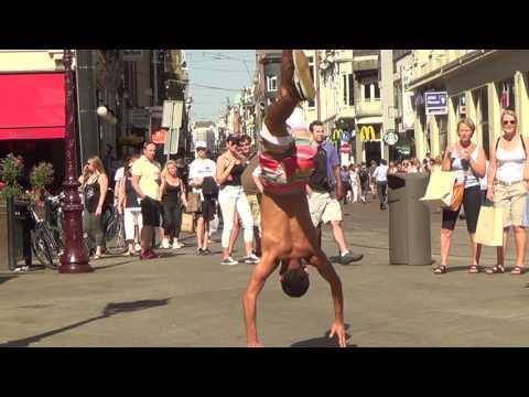 Break Dance / Capoeira - Collaboration - Street Dance Show (Amsterdam 2017)
