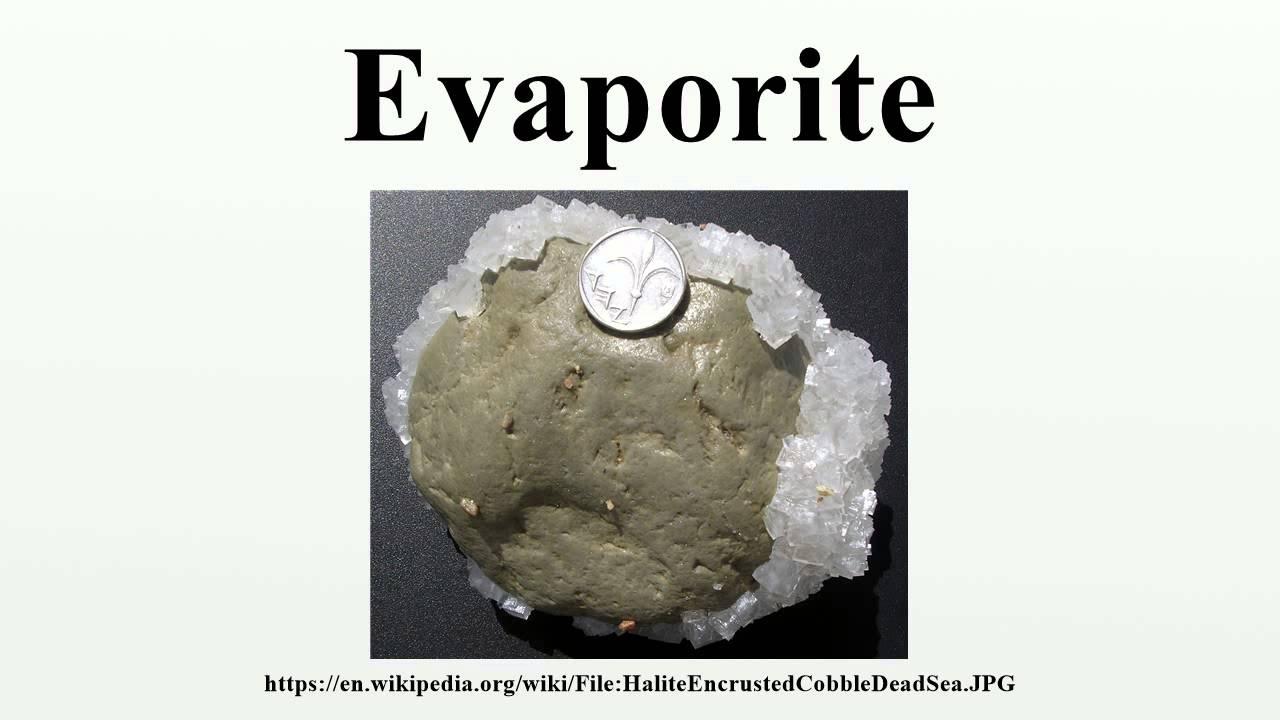 Evaporite - YouTube