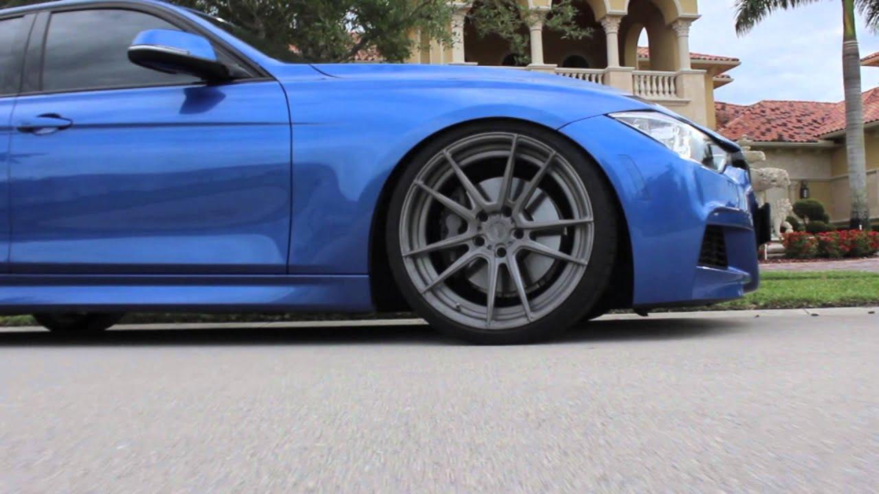 Bmw F30 335i On Adv 1 Wheels Youtube