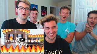 """RED HOUSE REACTS TO """"THE RED HOUSE DISS TRACK!!!"""" (Official Music Video)"""