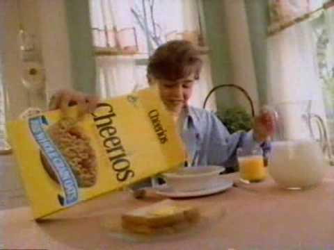 1992 General Mills Cheerios Commercial