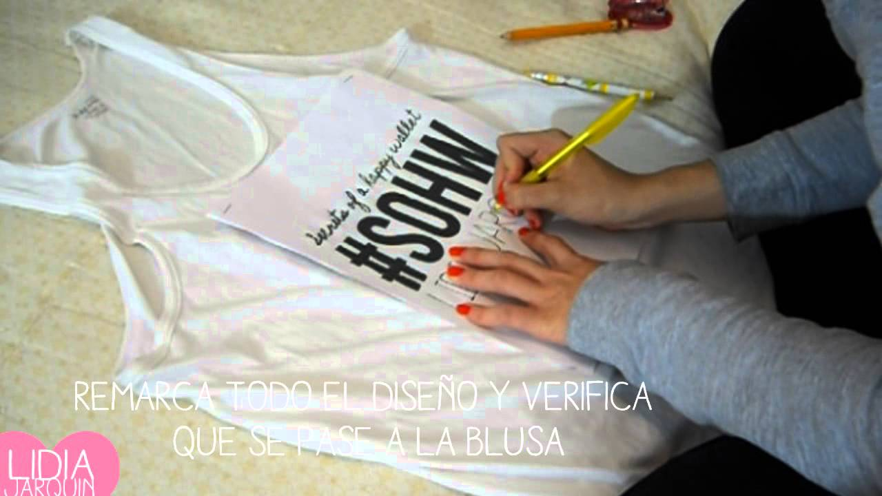 Playeras Decoradas Cómo Estampar Tus Playeras Súper Tip Diy