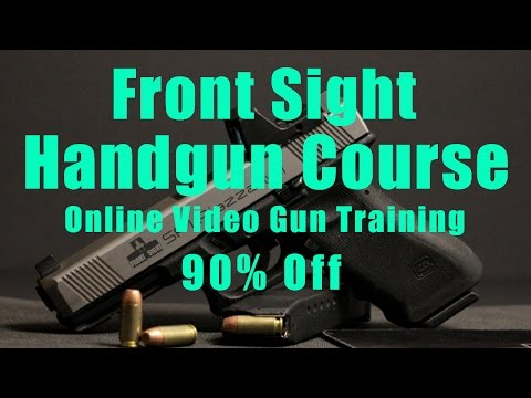 Front Sight Video Handgun Training-Video Gun Training-Video Firearms Training-Video Pistol Training