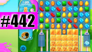 Candy Crush Soda Saga Level 442 NEW | Complete!