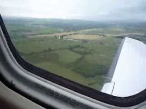 FLYING TO QE2 ON A PRIVATE JET FROM GLASGOW AIRPORT