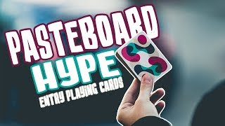 PASTEBOARD HYPE - Entry Playing Cards