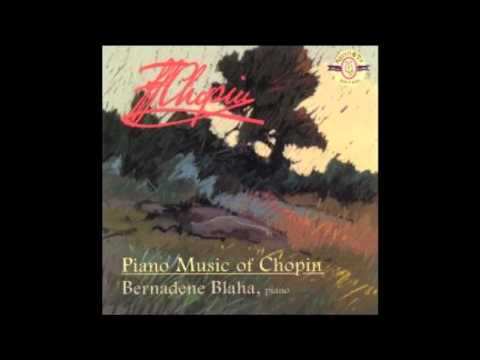 Chopin - Polonaise-Fantaisie, Op. 61 - Bernadene Blaha