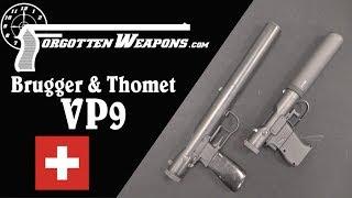 Zapętlaj B&T VP9 Silenced Pistol: A Modern Welrod | Forgotten Weapons