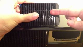 Unboxing a Xbox 360 Slim 120GB Hard drive