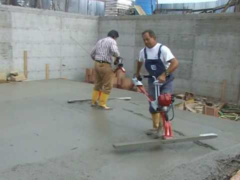 VIBRATING SCREED CONCRETE  LEVELING  SCREDING CONCRETE