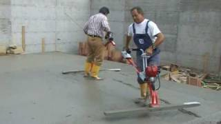 VIBRATING SCREED CONCRETE - LEVELING , SCREDING CONCRETE - LIBELLULA STAGGIA VIBRANTE