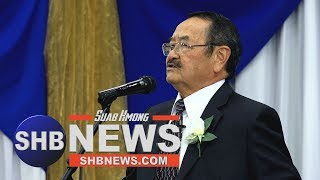 SUAB HMONG NEWS:  Major CHONG SHOUA YANG speech for HMONG 18 COUNCIL OF WI