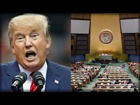 TRUMP JUST KICKED THE UN TO THE CURB WITH A NEW GLOBAL WARMING DECLARATION