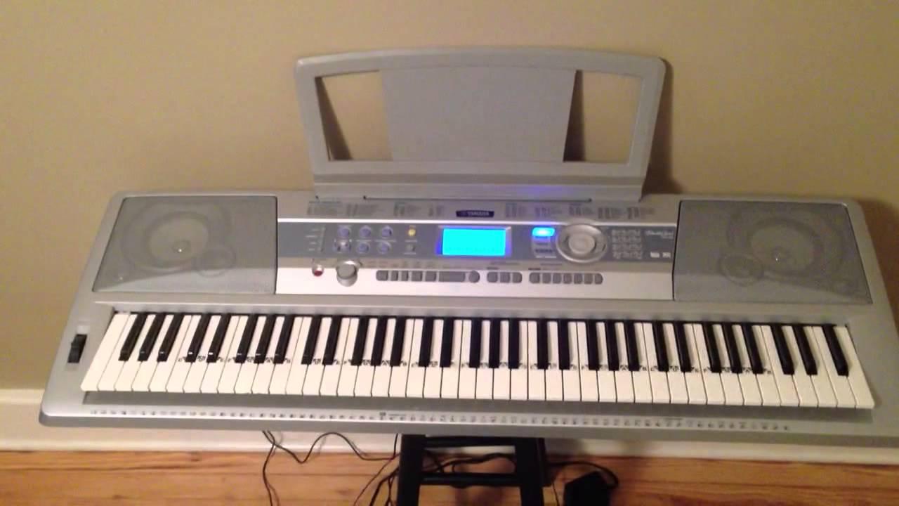 yamaha dgx 200 portable grand piano youtube