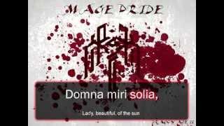 Dragon Age II - Mage Pride with Lyrics
