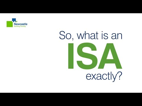 What Is An ISA? - Newcastle Building Society