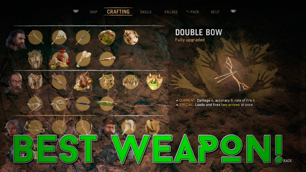 The Best Weapon In Far Cry Primal It Rhymes W Bubble Doe Youtube