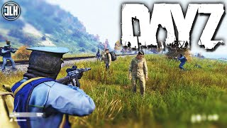 DAYZ 1.0 | Arresting a Group of Russian Communists (The Chernarus Cops)